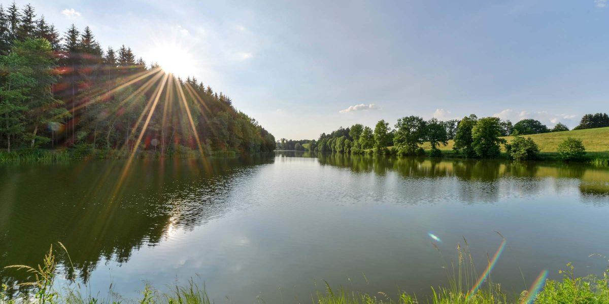 Klozbuecher_Sonnenuntergang_See