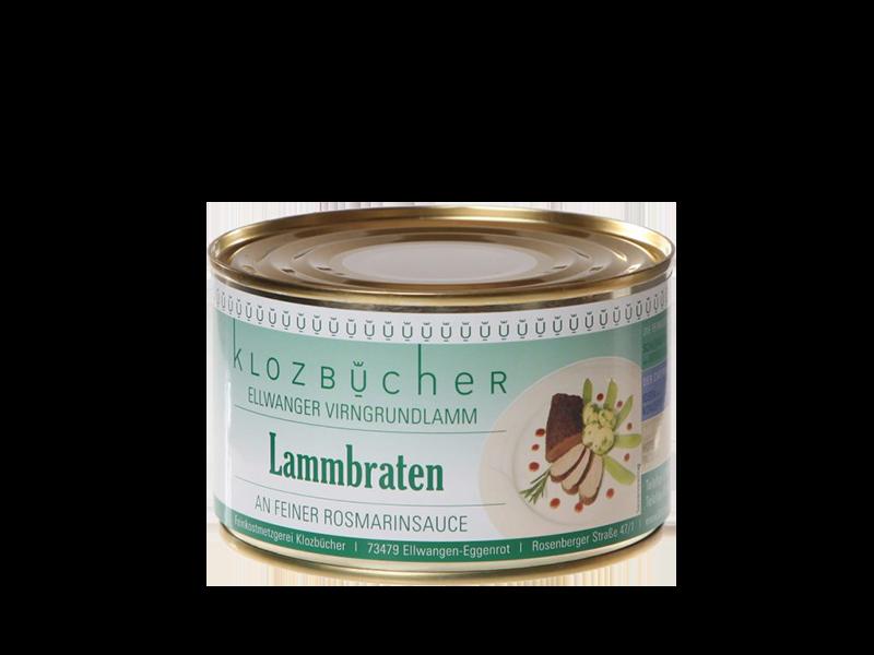 Landhotel Klozbücher Ellwangen-Eggenrot Lammbraten