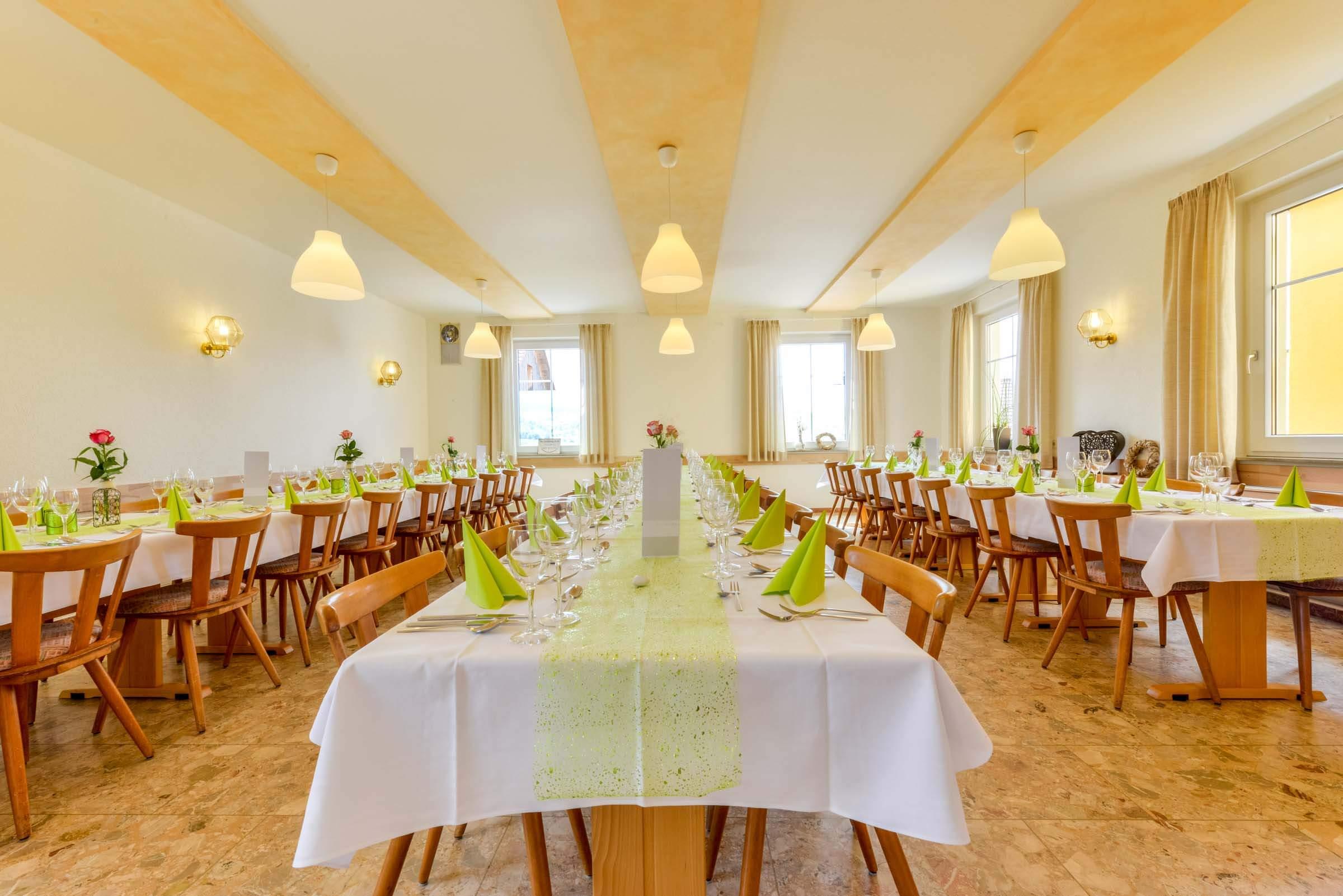 Landhotel Klozbücher Ellwangen-Eggenrot Rösselstuben